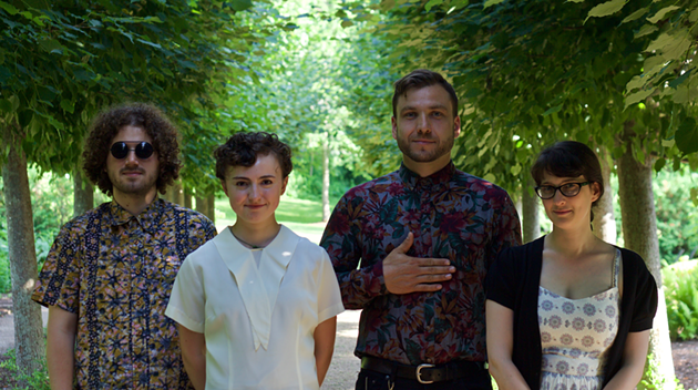 Halifax-born band slash sound experiment New Hermitage is like a dreamy soundtrack to your fave sci-fi novel. - SUBMITTED PHOTO