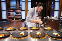 Andy Hay of The East Coast Kitchen, doing his thing during season five of MasterChef Canada. - VIA MASTERCHEF
