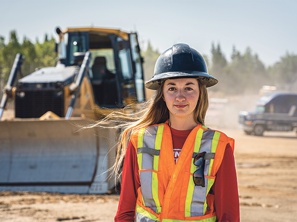 I was fortunate to learn the most efficient and proper way to operate equipment, which gave me a ton of confidence and really prepared me for the fast pace of my current work environment. —Kelsey MacRae - SUBMITTED