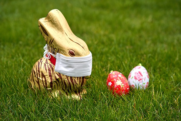 """""""The Easter Bunny should be your only visitor this weekend,"""" says premier McNeil. - ADOBE STOCK"""