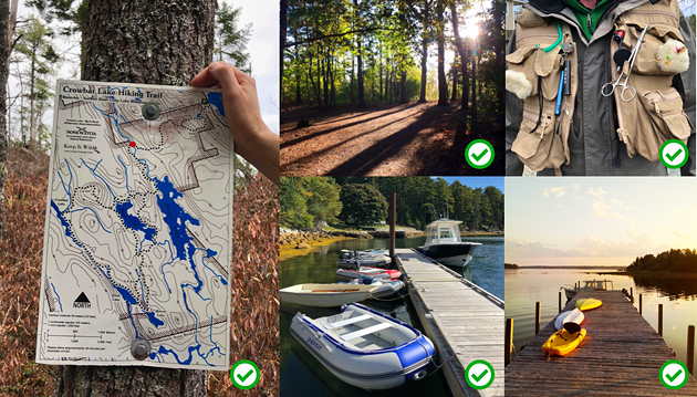 Head out for trails, parks, marinas, cottages and fishing, as long as you respect the rules on physical distancing. - THE COAST