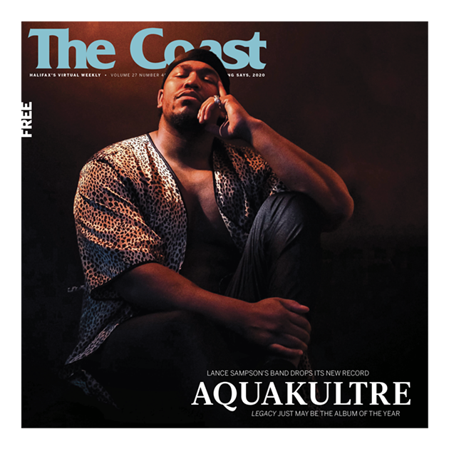 Lance Sampson began Aquakultre as a solo project aiming to help him find—and raise—his true voice. Now, it's a band of decorated Halifax musicians who are dropping a contender for album of the year on May 8. - NATHANIEL COLE PHOTO