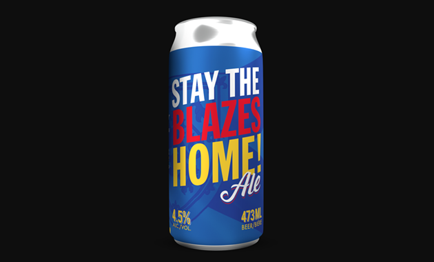 Garrison's Stay the Blazes home ale embodies the spirit of how coronavirus has changed the way we drink. - GARRISONBREWING.COM