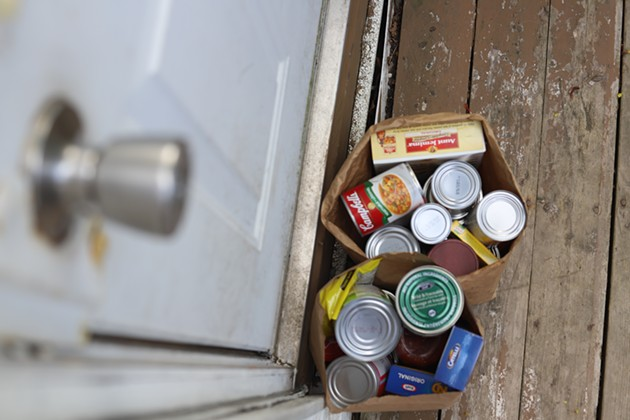 Feed Nova Scotia is delivering two non-perishable food boxes to each individual in need, and four to couples and families. - VICTORIA WALTON