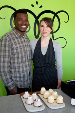 Dennis & Melissa, owners of Delectable Desserts - SNAPD DARTMOUTH