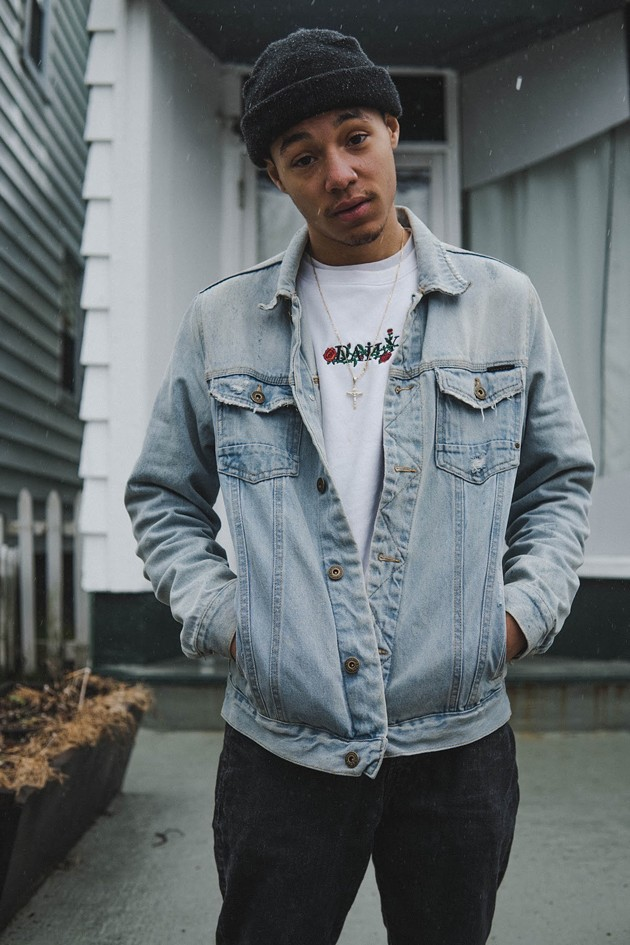 Rapper, beat maker and Let Dreams Be Noticed Records co-founder Kye Clayton lists Nas, Travis Scott and G Herbo amongst his biggest influences. - ANDREW RHODENIZER PHOTO