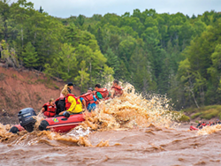 Rafting down the Shubie river isn't for the faint of heart. - NOVA SCOTIA.CA