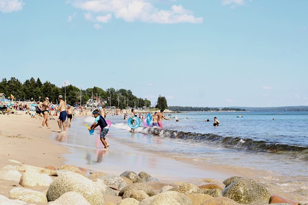 Beaches like Queensland will be a little less packed this summer thanks to social distancing. - VICTORIA WALTON