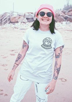 Francoeur designs all the shirts, bags and artwork herself. - COEUR CLOTHING INSTAGRAM