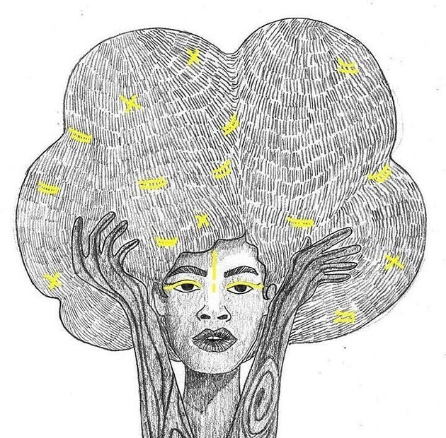 Durand is an artist who represents Afro-descendants as joyful, proud, and empowered in her work. - AURÉLIA DURAND