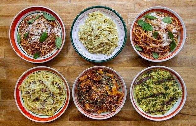Maria's is open for lunch service in Dartmouth from Wednesday through Saturday. - MARIA'S PASTA BAR & PANTRY