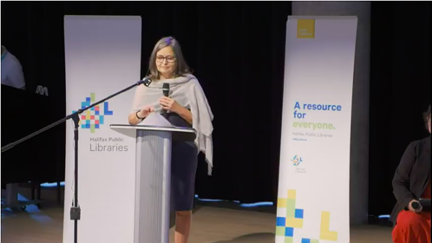 "Halifax Public LIbraries CEO Åsa Kachan says the move to eliminate library fines is ""long overdue."" - YOUTUBE SCREENSHOT"