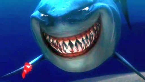 Bruce from Finding Nemo was a Real One from the jump. - FILM SCREENSHOT