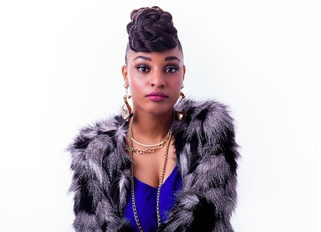 Reeny Smith is poised to steal the show at Mosaic Festival, streaming live Saturday night. - SUBMITTED