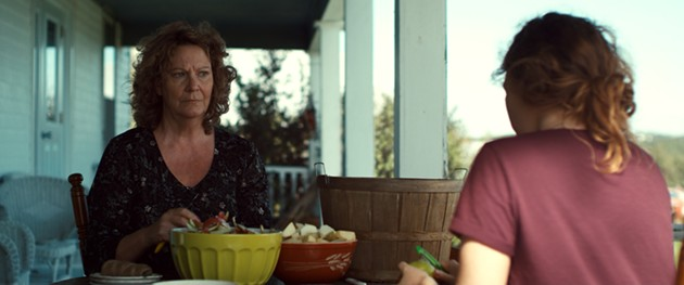 Sofia Banzhaf and Shelley Thompson (left) star in Thom Fitzgerald's 2018 film adaptation of Lee-Anne Poole's Fringe play of the same name. - FILM STILL