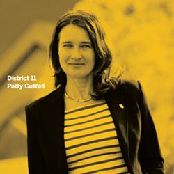 Councillor Patty Cuttell