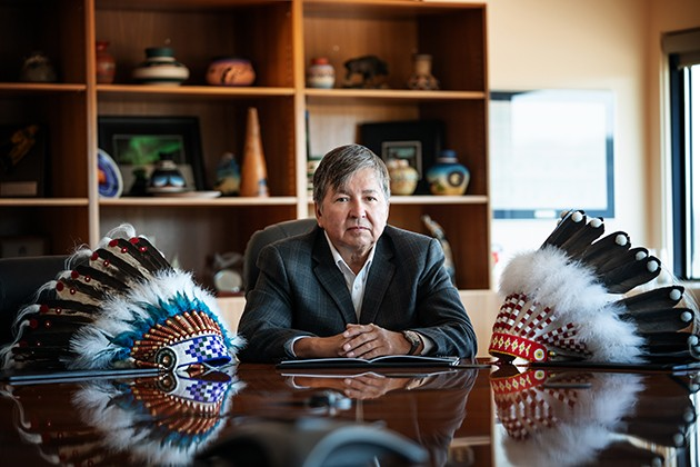Chief Mel Grandjamb says Fort McKay First Nation has seen positive development from its businesses since the early '70s. - SUBMITTED