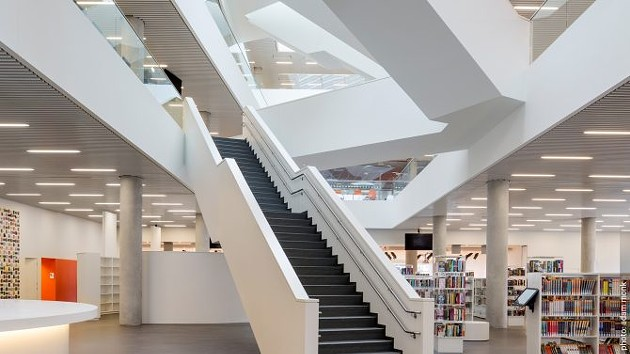 Inside the Central Library. - HALIFAX PUBLIC LIBRARIES