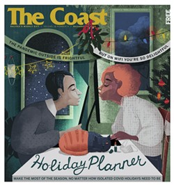 In print and online, The Coast's 2020 Holiday Planner is here for you from now to 2021.