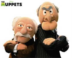 Sometimes Statler and Waldorf get mistaken for Nova Scotia's premier and top doc.