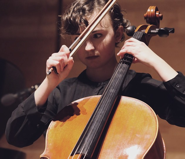 Modern composer and total GOAT Philip Glass is a fan of cellist/composer/improviser India Gailey. - KEVIN PRINOSKI