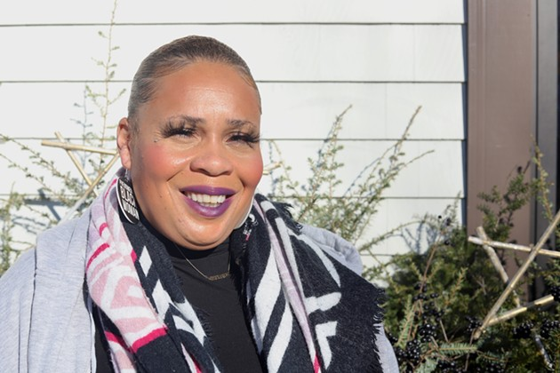 Tia Upshaw is the creator of Blk Women in Excellence, which finishes its first workshop series in February. - THE COAST