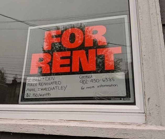 A notice for a unit currently for rent at 2323 Agricola Street. A two-bedroom unit in the same building was renting for $1245 in 2017. That's an increase of 43 percent over three years. - SUBMITTED