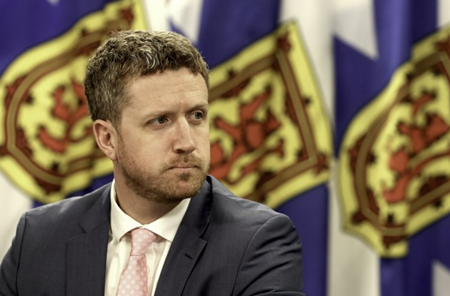 """I value science and I value public health advice,"" premier Iain Rankin assures Nova Scotians in his debut C19 webcast. - COMMUNICATIONS NOVA SCOTIA"