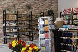 The store has a large selection of local products, as well as the essentials like toiletries and medications. - THE COAST