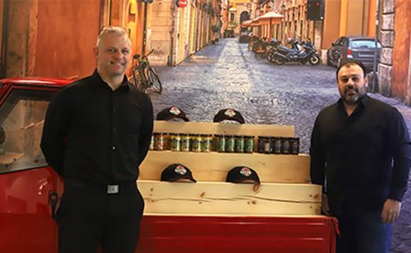"Sapori Italian Street Food owners Luca Ferrante and Giuseppe ""Beppe"" Giardino. THE COAST"