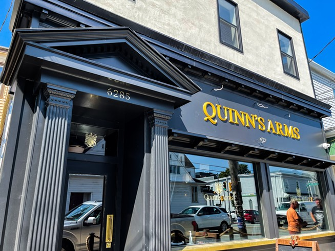 Quinn's Arms took over the old Phil's Seafood location at 6285 Quinpool Road. - THE COAST