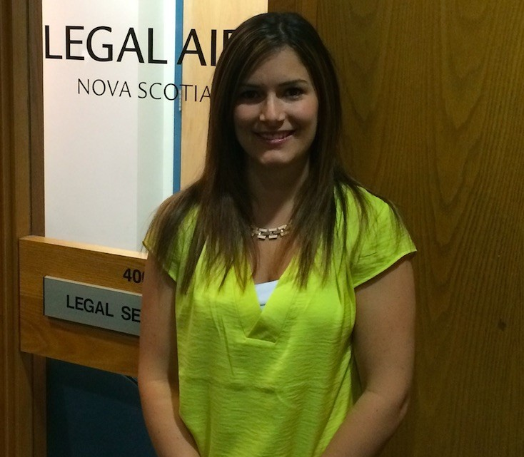 Leslie Hogg is a Saint Mary's alumna currently working for the Nova Scotia Legal Aid Commission and is a volunteer with the 7th Step Society of Nova Scotia.