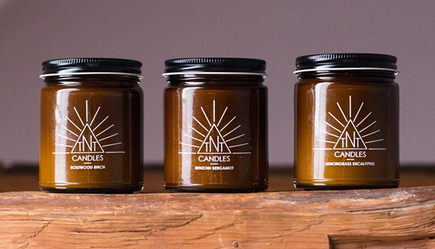 Get a whiff of TNT Candles - VIA FACEBOOK