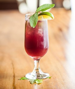 The Blueberry Lavender Mojito will make you forget this summer of rain. - MEGHAN TANSEY WHITTON