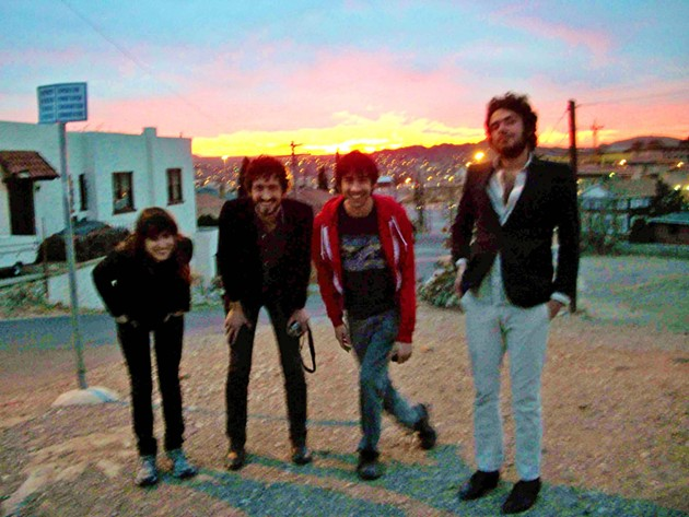 L.A. via Austin rock band Fragile Gang in El Paso