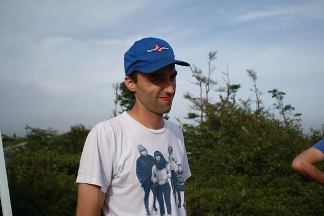 Matt Peters (organizer) kept things rolling - ADRIA YOUNG