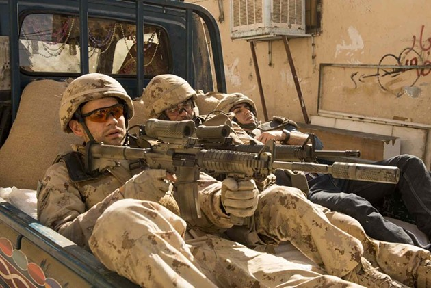 Rossif Sutherland and Paul Gross star in Hyena Road