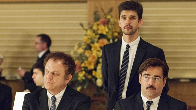 John C. Reilly and Colin Farrell star in The Lobster