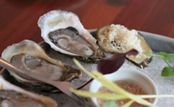 Oysters are like wine. And they should be tasted essentially the same way. - MELISSA BUOTE