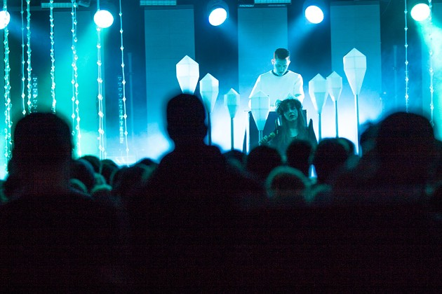 Purity Ring at The Forum MPC - LENNY MULLINS