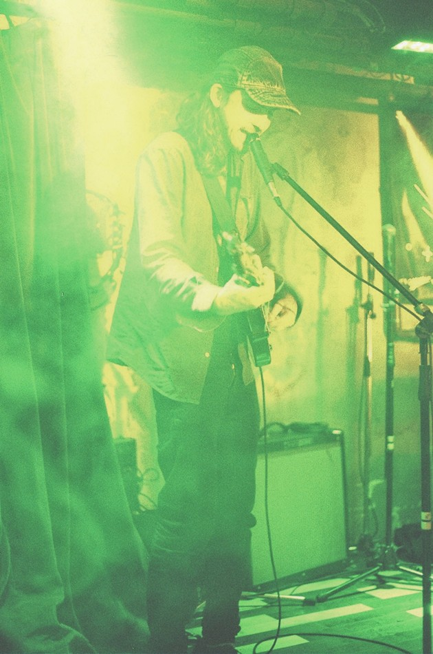 Crosss (Andy March) at The Seahorse Tavern - KATE GIFFIN