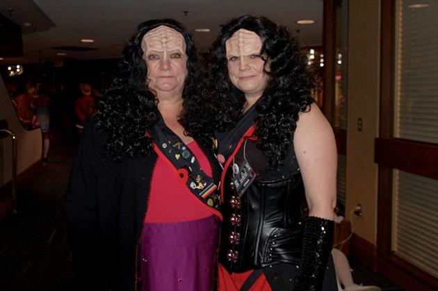 Found some Klingons - ADRIA YOUNG