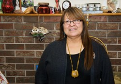 Sipekne'katik First Nation member Dorene Bernard is opposed to the Alton Gas project. - JAMES STEWART