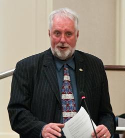 David Hendsbee back in 2012. - THE COAST