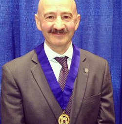 Tony Mancini, at his swearing-in ceremony in February. - THE COAST