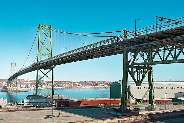The Macdonald Bridge is redeckulous. - LENNY MULLINS