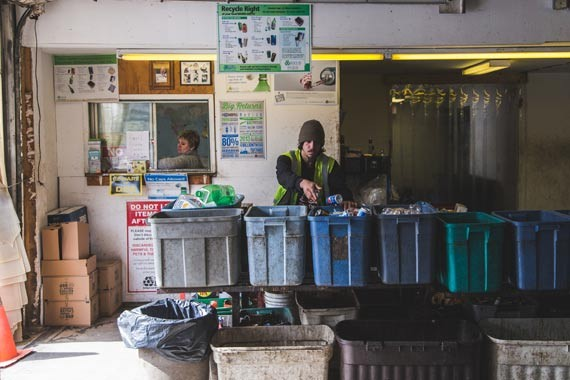 Tanner's Transfer enviro depot has been active in the north end for about 20 years. - DYLAN CHEW