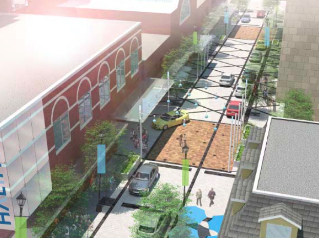A rendering of what the upgrades to Argyle and Grafton Streets will potentially look like. - VIA HRM