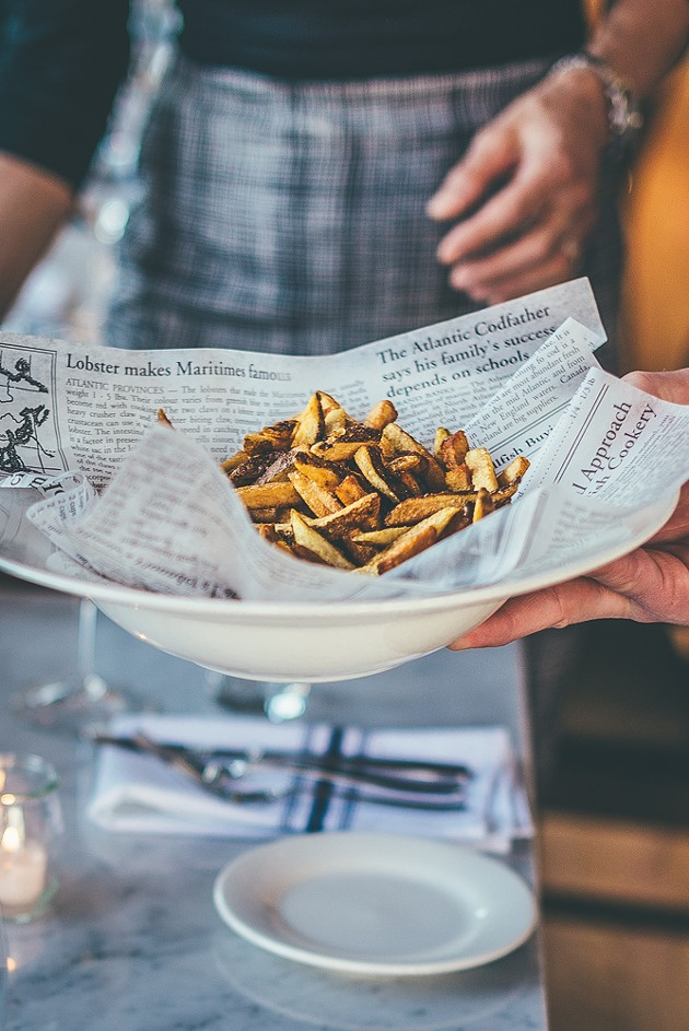 Truffle fries - PHOTOTYPE