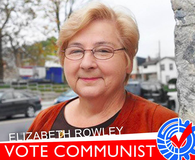 Liz Rowley is the leader of the Communist Party of Canada. - VIA FACEBOOK